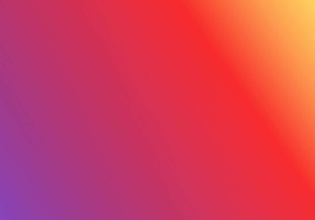 Comment faire un direct sur Instagram ? - image représentant le dégradé des couleurs Instagram